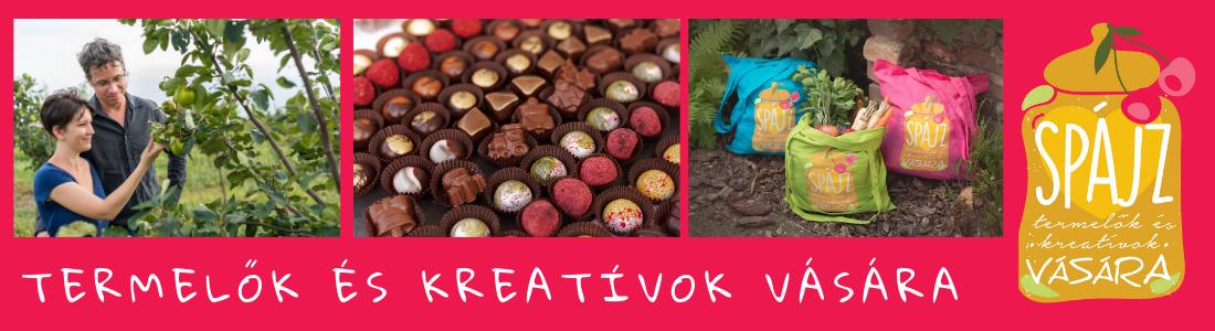 Paksi Spájz a kreatívok vására